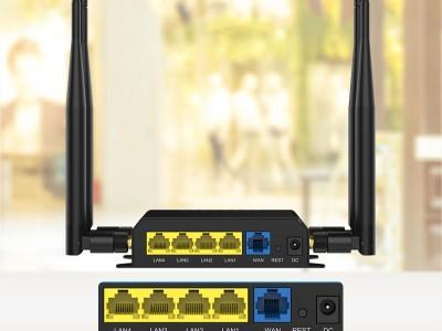 智博通工业4G路由器: ZBT-WE826-WD